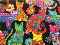 Flower Power Cats
